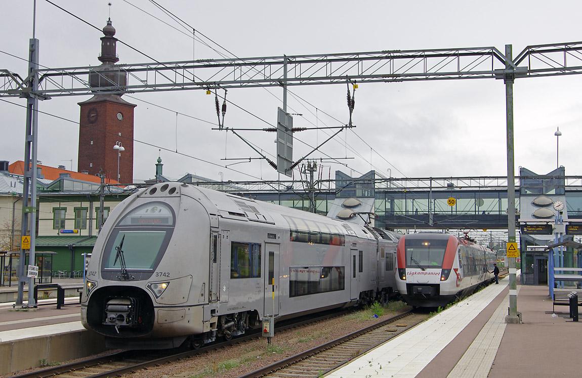 stockholm till västerås