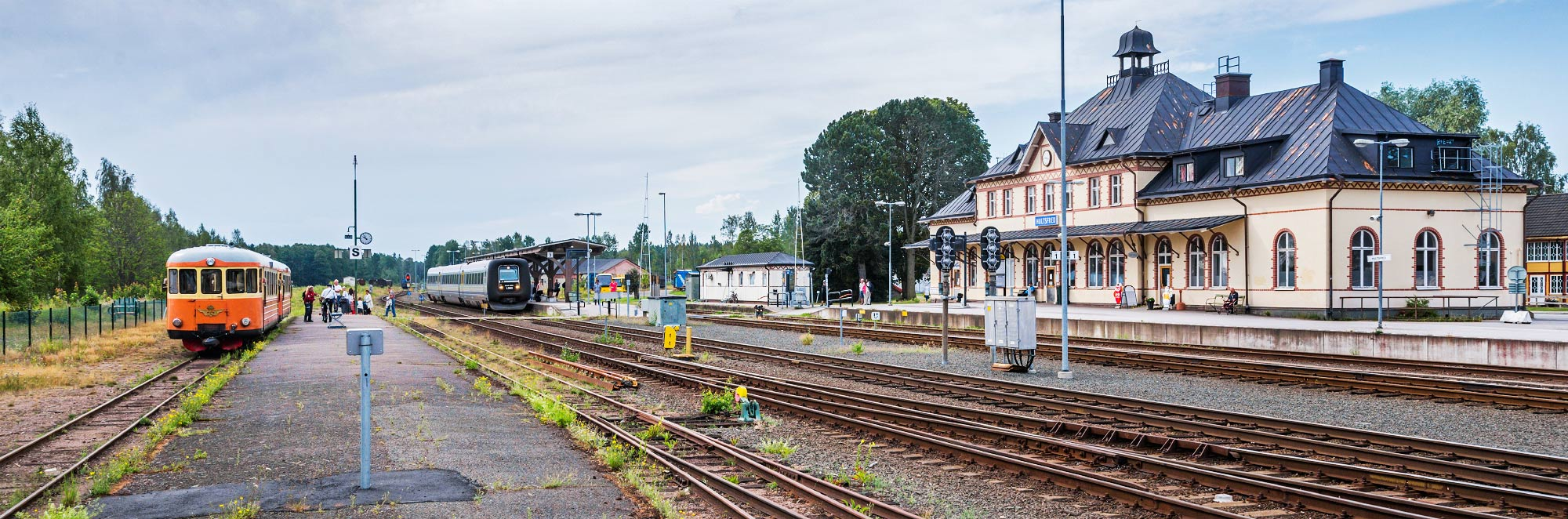 Stationen i Hultsfred 2014