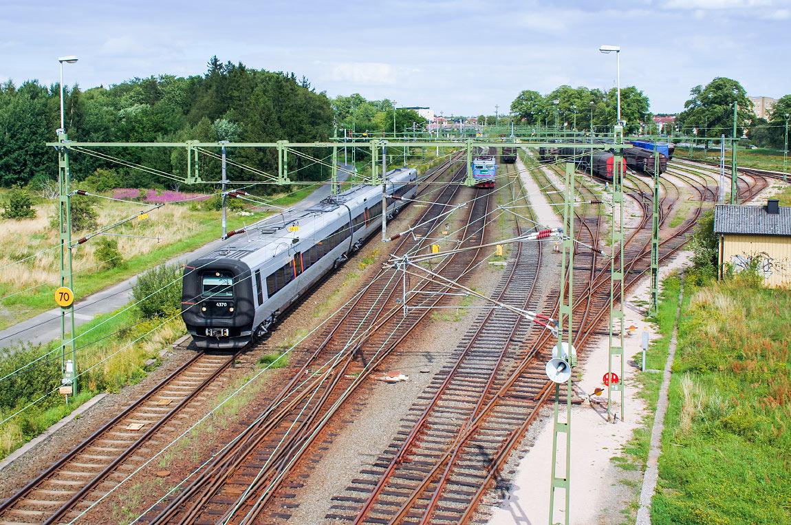 Trädgård Charlottenberg : Banguide kristianstad karlskrona järnväg