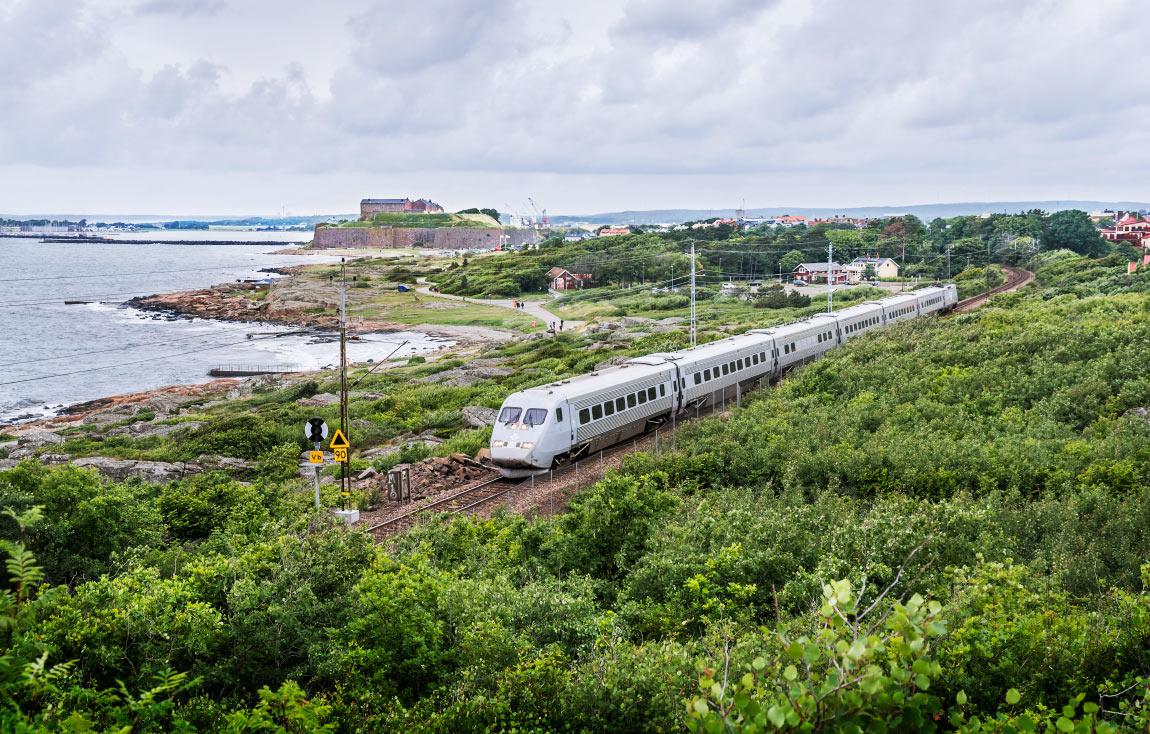 tåg till helsingborg från göteborg