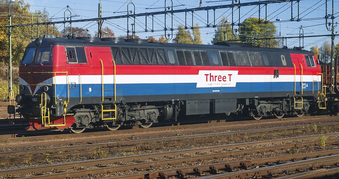 Bild: Three T TMZ 1407 i Kil 2013