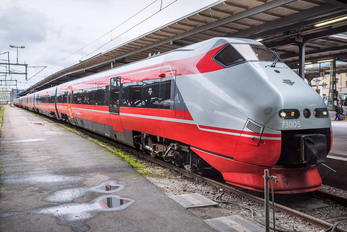 tåg luleå göteborg