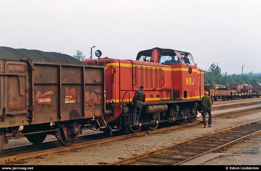 NBJ T 23 i Bofors 1971